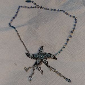 Star fish necklace.